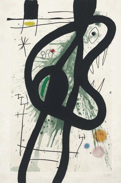 Joan Miró, 'Le Grand carnassier', 1969