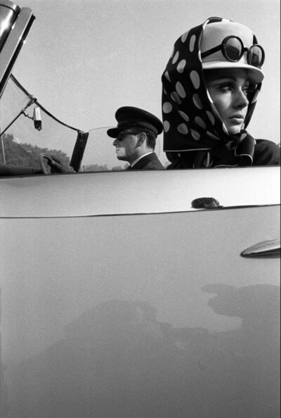 Brian Duffy, 'Girl with Chauffeur, Town Magazine', 1965