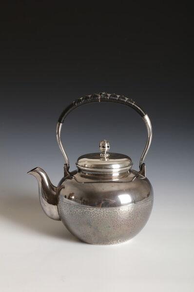 Miyamoto Studio, 'Silver Tea Kettle (T-4230)', Taisho era (1912, 26), ca. 1920