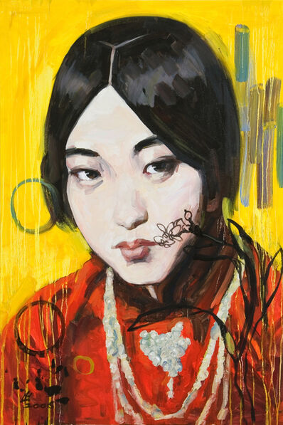 Hung Liu, 'Narcissus IV', 2006