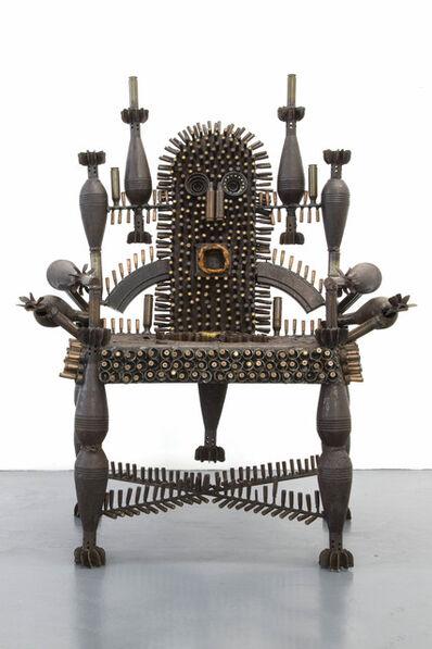 Gonçalo Mabunda, 'The Throne of Wisdom', 2020