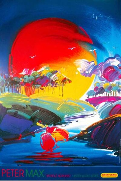 Peter Max, 'Without Borders ', 2000
