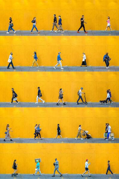 Xan Padron, 'Time Lapse. SoHo, Greene St November', 2020