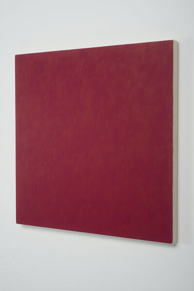 Marcia Hafif, 'Red Painting: Irgazine Ruby, February 6', 2000