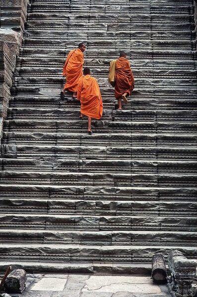 Eduardo Rubio, 'Cambodia Angkor Wat Steps'