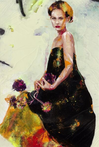 Lita Cabellut, 'Fairy Flower 02', 2016