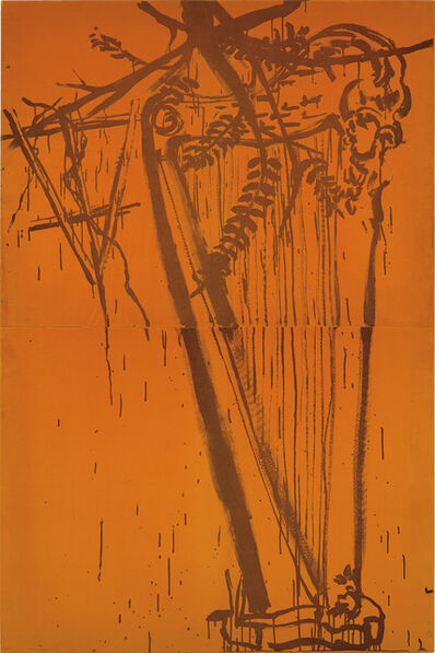 Julian Schnabel, 'Harp, from the Lola series', 1984