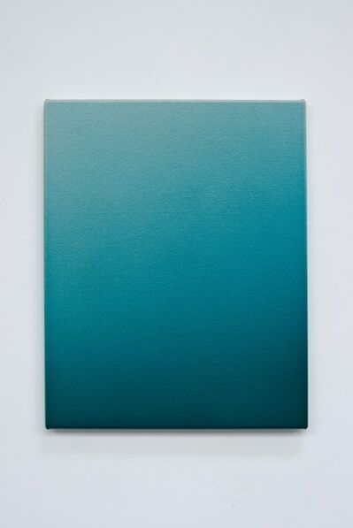 Oliver Marsden, 'Deep Turquoise Blue Fade OMS 587', 2016