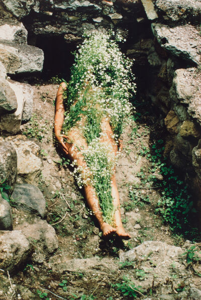 Ana Mendieta, 'Imagen de Yagul, from the series Silueta Works in Mexico 1973-1977', 1973