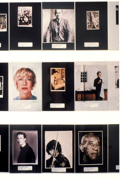Jennifer Dalton, 'What Does an Artist Look Like?', 2002