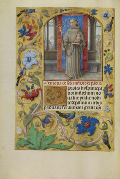 Master of James IV of Scotland, 'Saint Anthony of Padua', 1510-1520