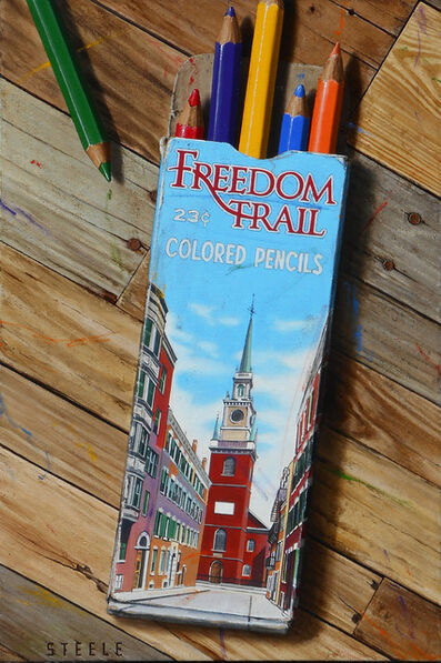 Ben Steele, 'Freedom Trail Pencils', 2020