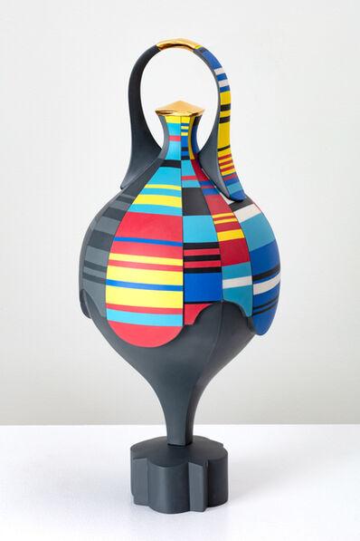 Peter Pincus, 'Scratch Spin Amphora', 2020