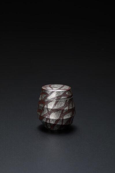 Sako Ryuhei, 'Mokume-gane Tea Container 01', 2020