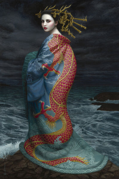 Chie Yoshii, 'Red Dragon', 2019