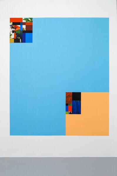 Sergio Vega, 'Parrot color chart composit', 2016