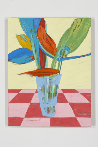 Nicola Tyson, 'Vase of Flowers', 2012