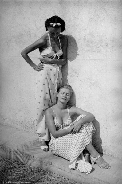 Lee Miller, ''Nusch Eluard and Lee Miller, Mougins, France 1937' by Roland Penrose', 1937