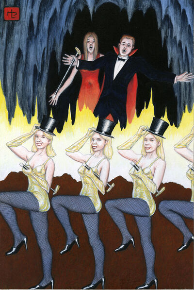 Jim Shaw, 'Dream Object: Paperback Cover (Dancers)', 2009