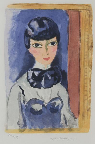 Kees van Dongen, 'Claudine (Mlle Oeuie De Lynx) (J. Jl 28)', circa 1950