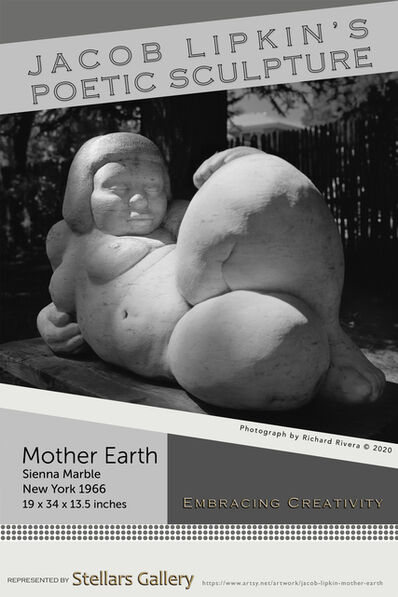 Jacob Lipkin, 'Mother Earth 1966 Art Poster', 2020