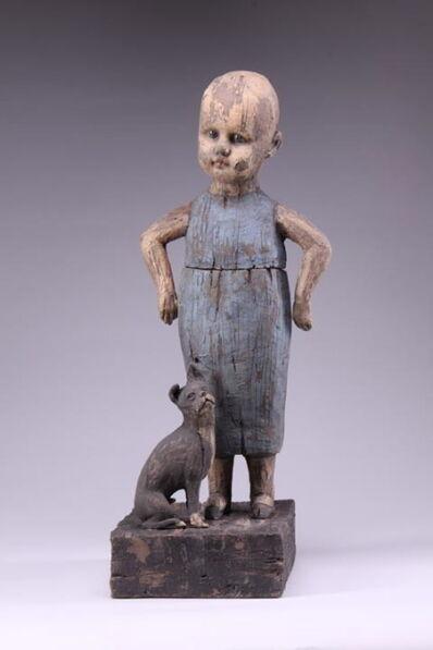 Margaret Keelan, 'Girl with Pet Dog', 2008