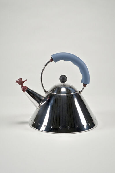 Michael Graves (1934-2015), 'Kettle with Bird Whistle by Michael Graves for Alessi', 2002