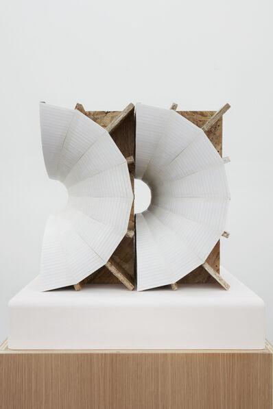 Julian Hoeber, 'Rotational Space Negative (Nested Shells)', 2016