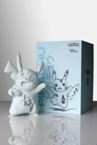 Daniel Arsham, 'Daniel Arsham x Pokemon Blue Crystalized Pikachu', 2020