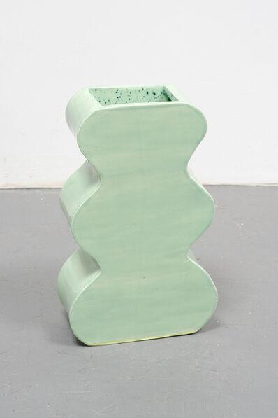 Becky Suss, 'Vase (celadon)', 2015
