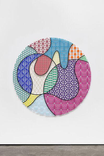 Nevin Aladağ, 'Pattern Kinship, moon', 2019