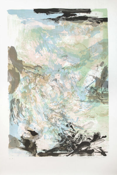 Zao Wou-Ki 趙無極, 'Untitled', 1976