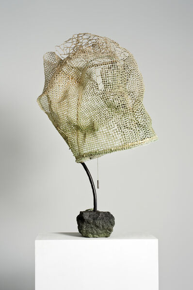 Nacho Carbonell, 'Green Cocoon Concrete Base 2', 2015