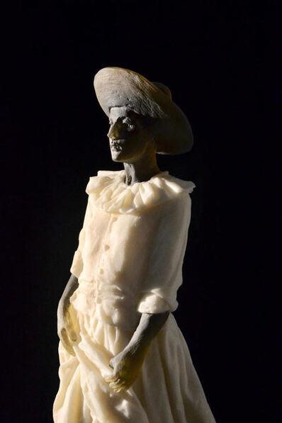 Nicolas Africano, 'Garbo Figure (figure holding dress) DETAIL', 2018
