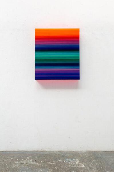 Thierry Feuz, 'Technicolor Stratus Horizon', 2021