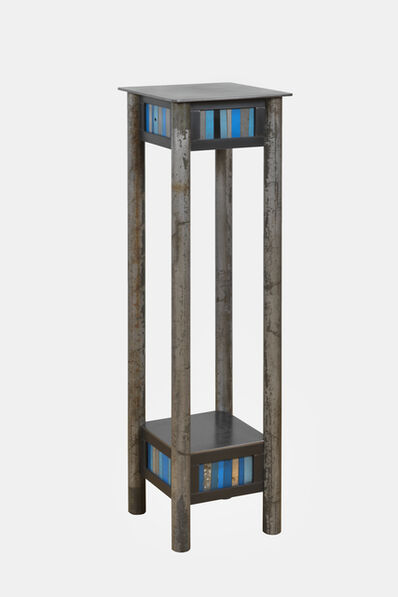 Jim Rose, 'Strip Quilt Pedestal', 2018