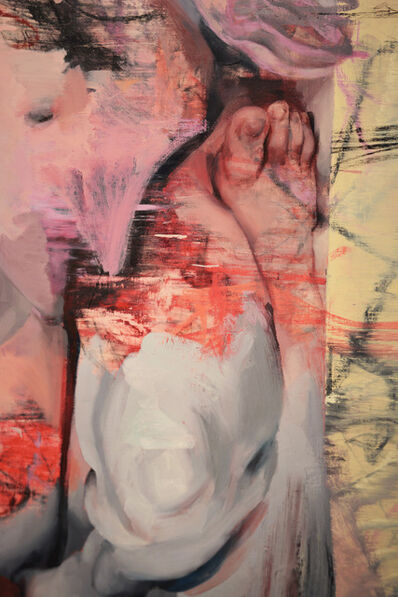 Jenny Saville, 'Vis and Ramin II (detail)', 2018