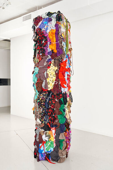 Shinique Smith, 'Bale Variant No.0023 (Totem)', 2014