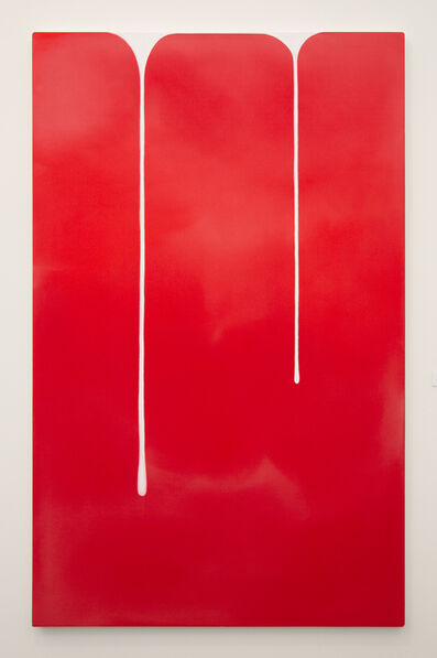 Wanda Koop, 'Spill (Red-White)', 2018