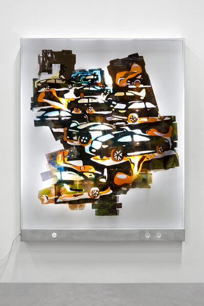 Neïl Beloufa, 'Big Cars E', 2019