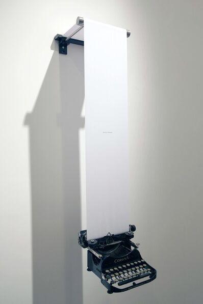 Emmanuele De Ruvo, 'Gravity of Situation', 2015