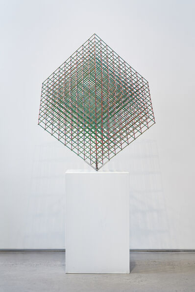 Alois Kronschlaeger, 'Multicolored Cube Configuration # 2', 2015