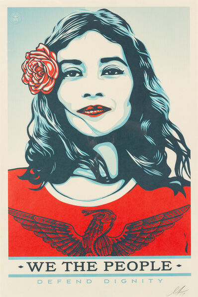 Shepard Fairey (OBEY), 'We the People', 2017