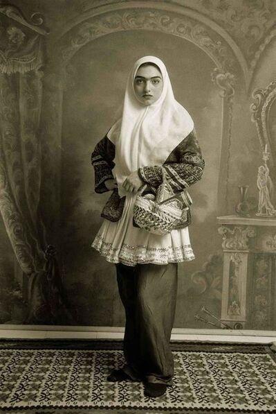 Shadi Ghadirian, 'Qajar #6', 1998