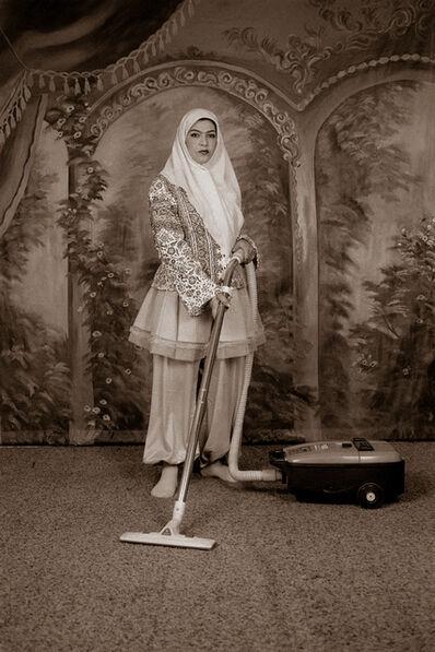 Shadi Ghadirian, 'Qajar #24', 1998