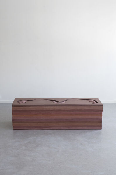 Hilda Hellstrom, 'Traces of your behind (Exhibition Bench) I', 2019