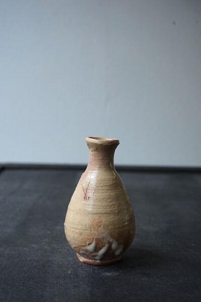 """Shiro Tsujimura, 'Sake Bottle """"Ido Style""""'"""
