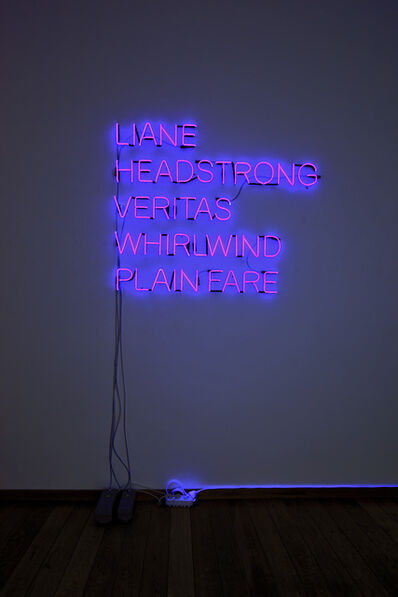 Olaf Nicolai, 'LIANE, HEADSTRONG, VERITAS, WHIRLWIND, PLAN FARE', 2006