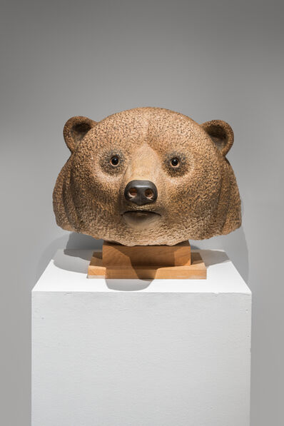 Jean-Marie Fiori, 'Brown Bear's Head', 2005