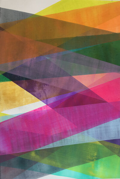 Bim Koehler, 'Form/ Feld/ Farbe', 2018